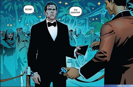 007 comic