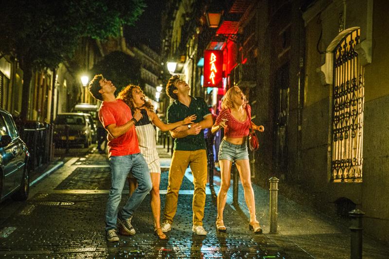 A los vecinos no les gusta el ruido - Netflix película Jota Linares