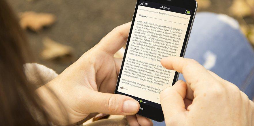lectura en tu smartphone