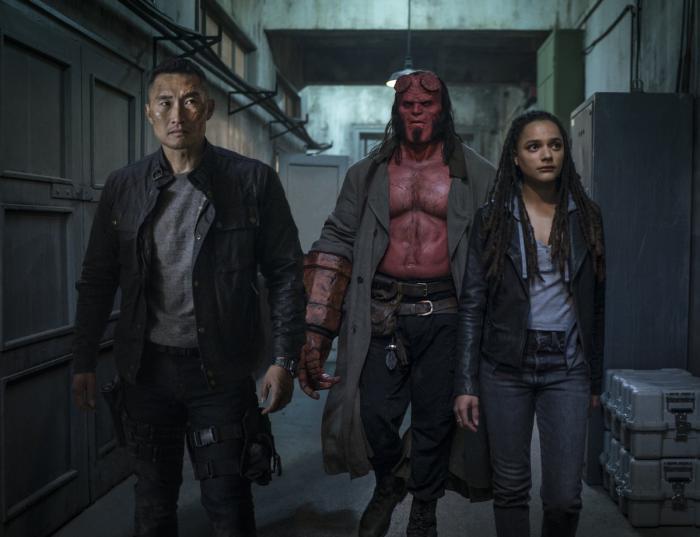 Daimio, Hellboy y Alice