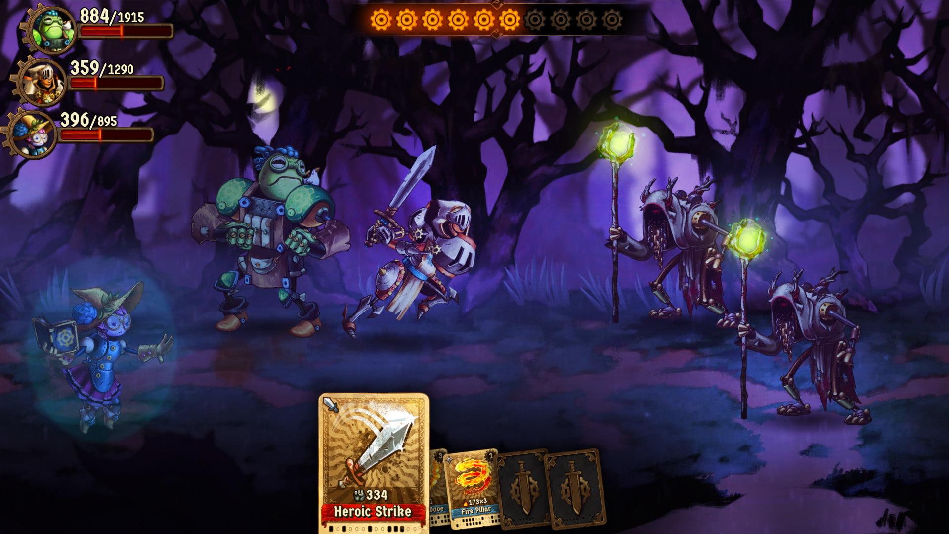 SteamWorld Quest 5