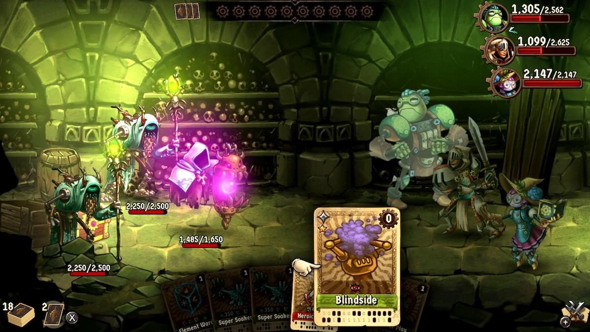 SteamWorld Quest 6