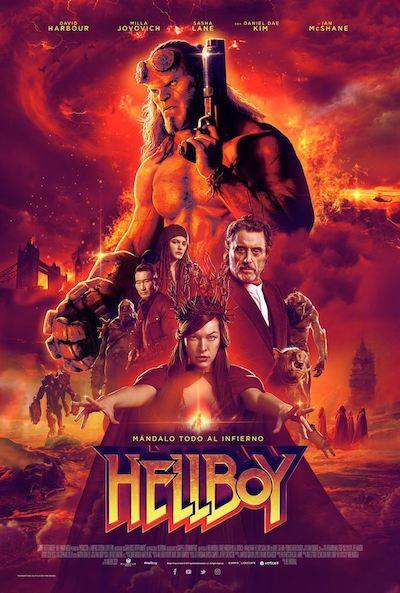 Cartel español de Hellboy