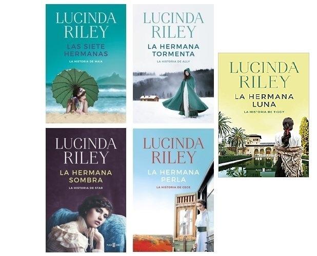Las siete hermanas de Lucinda Riley