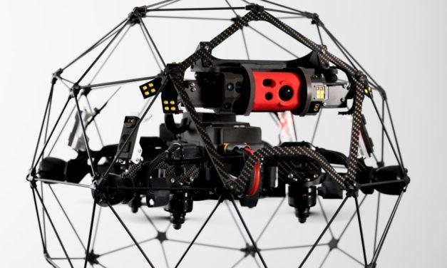 Elios 2: un dron especializado en la inspección de espacios reducidos y peligrosos