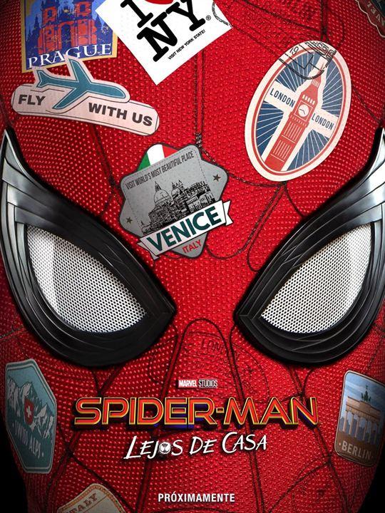 Cartel de Spiderman: lejos de casa, estrenos 5 de junio