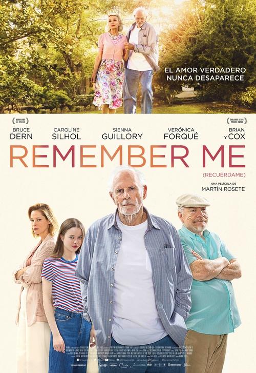 Cartel Remember me (Recuérdame)