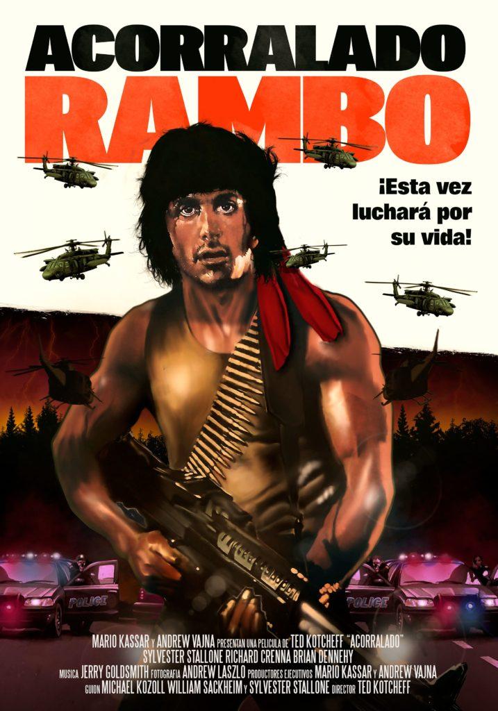 Rambo, acorralado, reestreno de 39 escalones