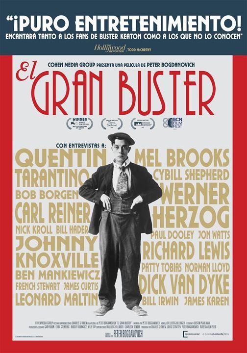 Cartel El gran Buster, estrenos de 2 de agosto de 2019