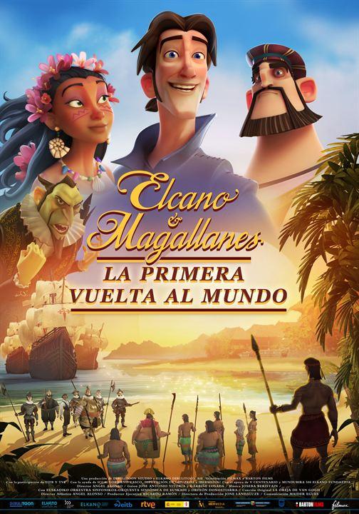 Cartel de Elcano y Magallanes, estrenos 5 de junio