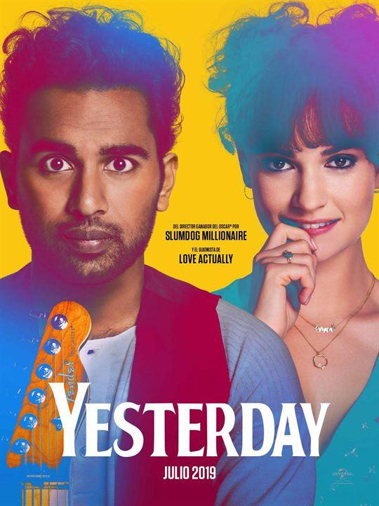 Cartel de Yesterday, estrenos 5 de julio