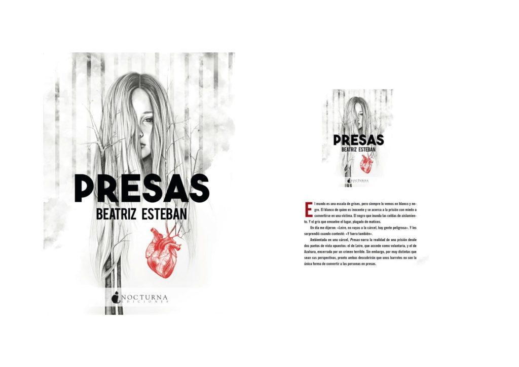 Presas, la última novela de Beatriz Esteban