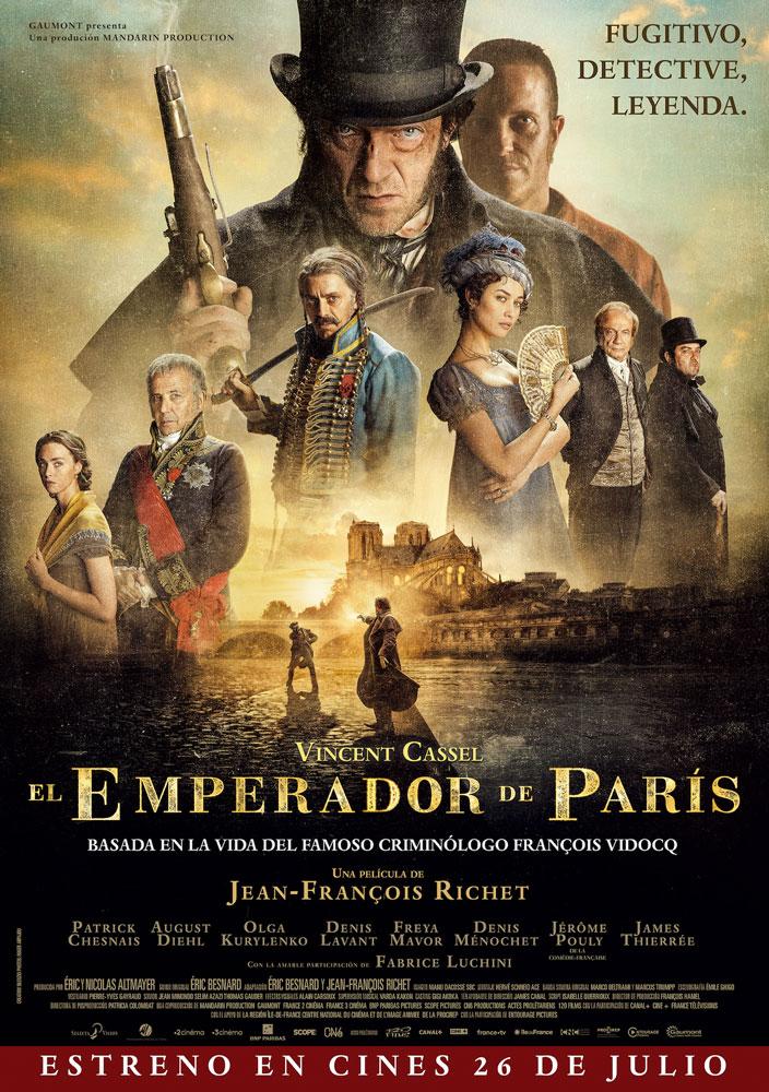 Cartel de El emperador de París