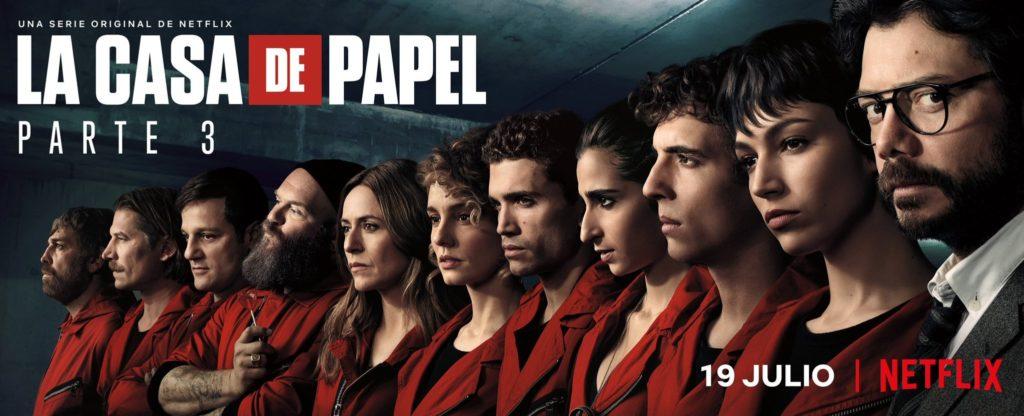 La banda de criminales prepara un nuevo atraco en La Casa de Papel parte 3. (Netflix)