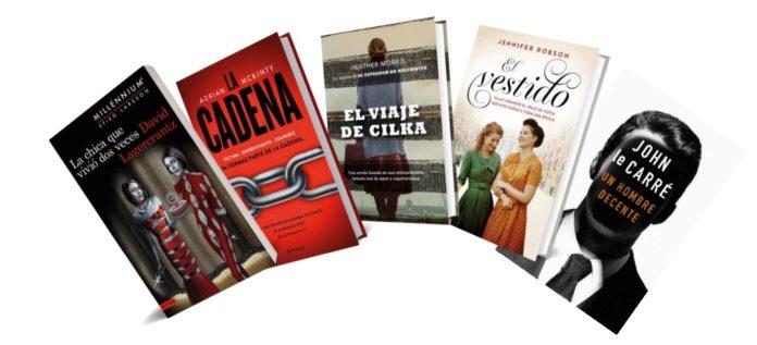 Novedades literarias para este otoño de 2019