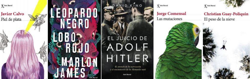 Novedades literarias septiembre 2019