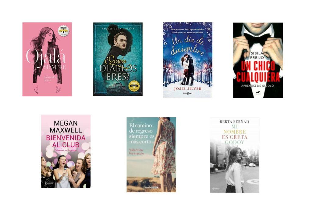 Libros de narrativa romántica o femenina para leer en verano