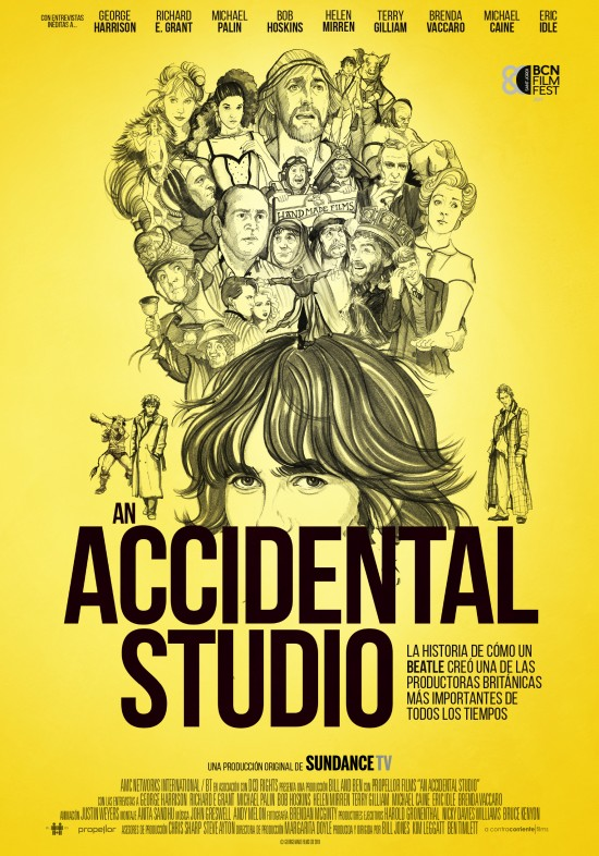estrenos de 12 de julio, An accidental studio