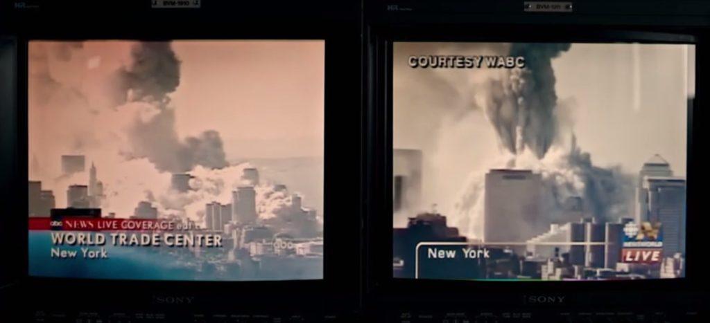 La voz mas alta. Torres gemelas ardiendo en Nueva York