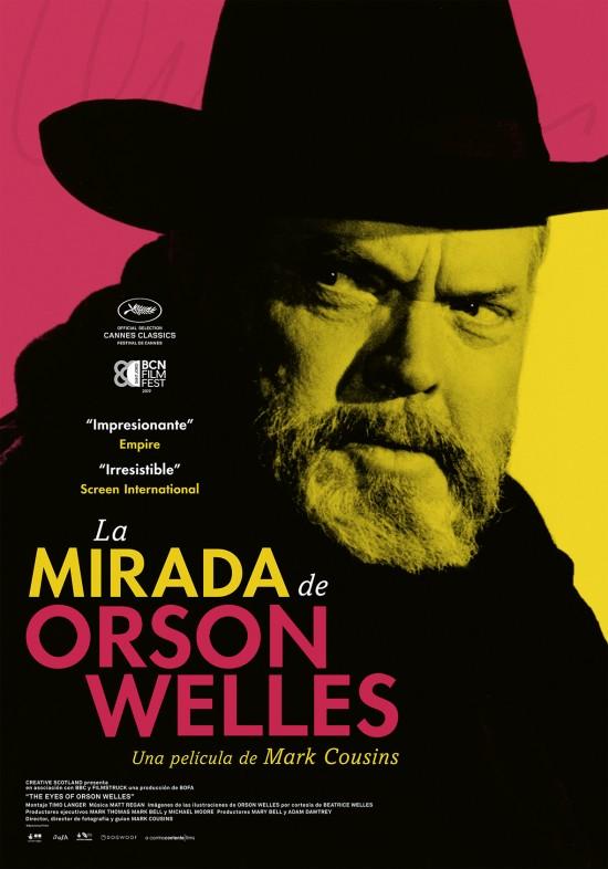 Las mirada de Orson Welles, cartel, estrenos de 26 de julio de 2019