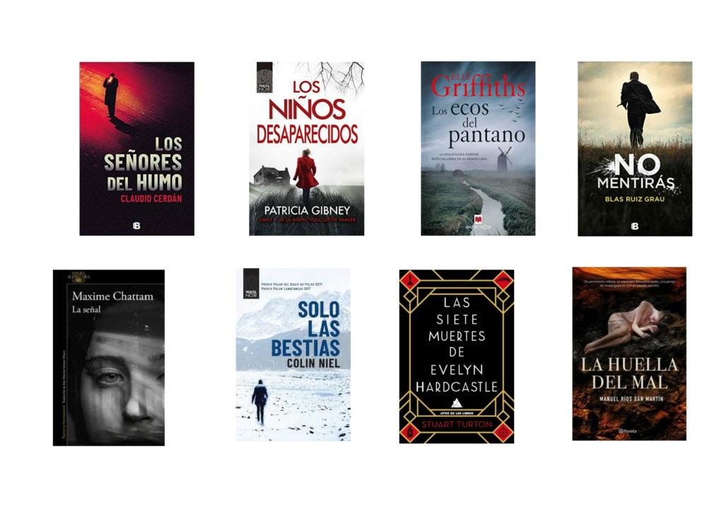 Libros de novela negra o suspense para el verano