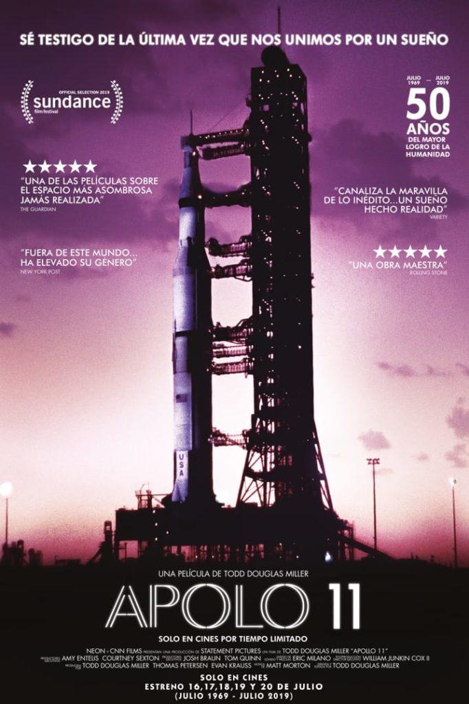 Estrenos de 19 de julio de 2019, Apolo 11