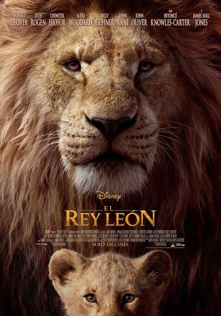 Estrenos de 19 de julio de 2019, El rey león