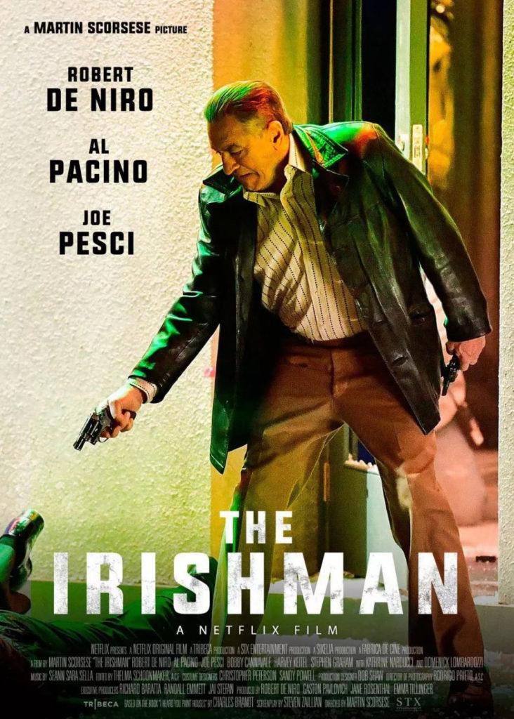 El irlandés, poster