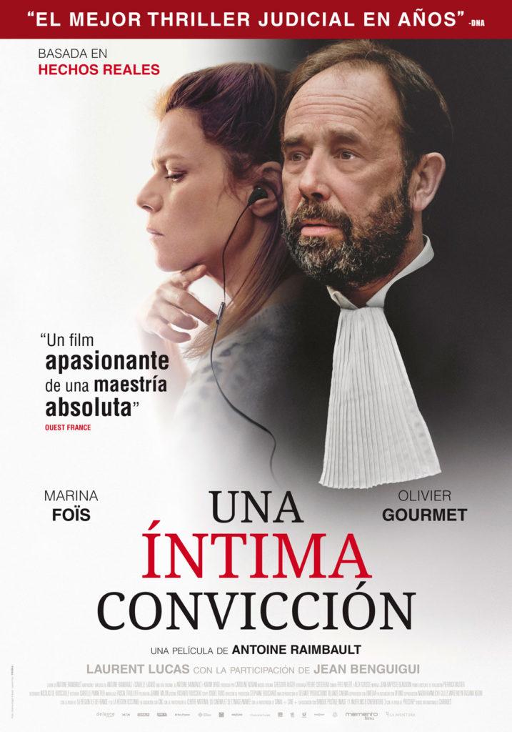 Cartel de Una íntima convicción