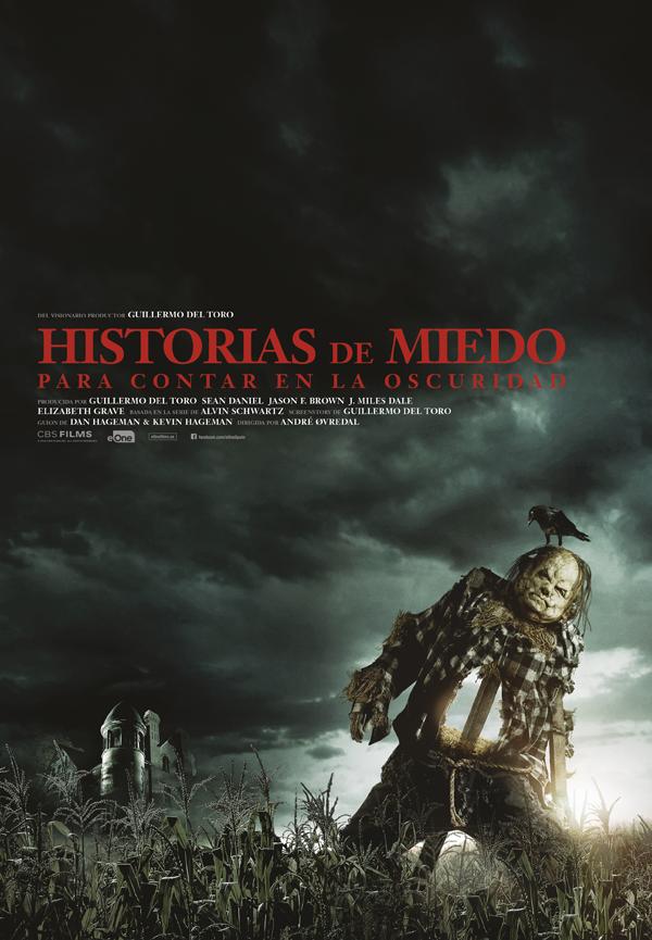 Cartel Historias de miedo para contar en la oscuridad, estrenos de 9 de agosto