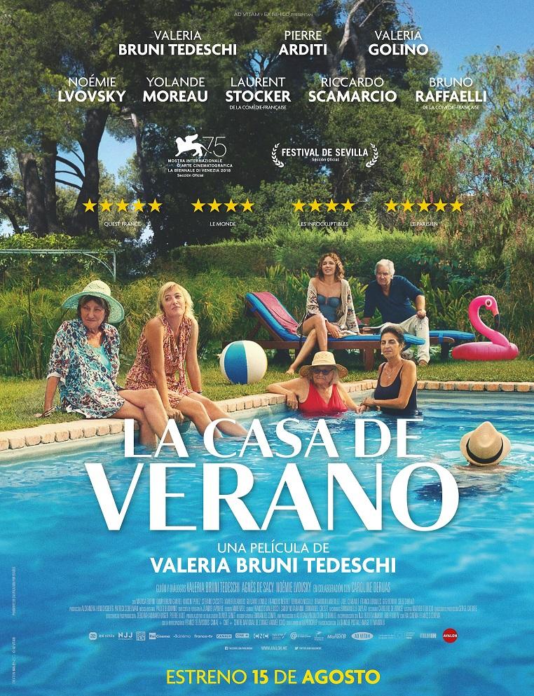 Cartel de la casa de verano, estrenos de 15 de agosto de 2019