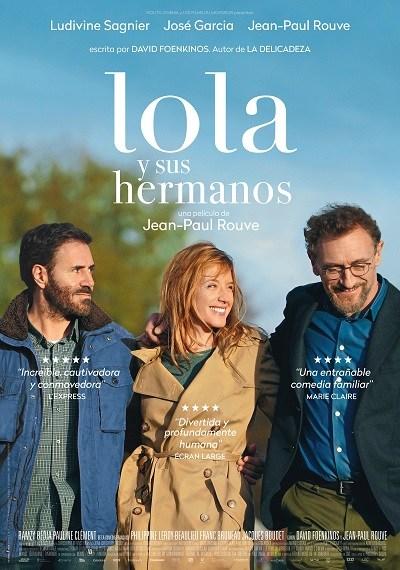 Cartel de Lola y sus hermanos