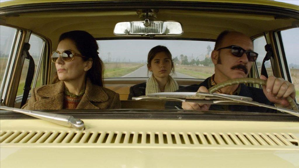 Frigerio, Grandinetti y Grandinetti, viaje de familia en Rojo