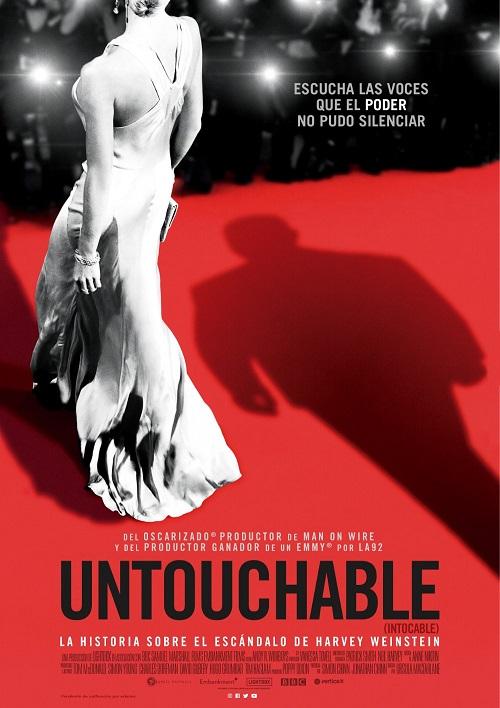 Cartel de Untouchable (intocable), estrenos del 6 de septiembre