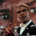 Denzel Washington como Malcolm X