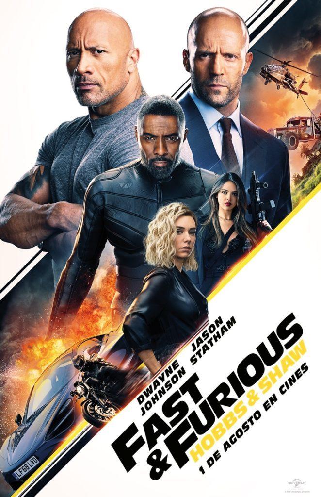 Cartel de Fast & Furious: Hobbs & Shaw