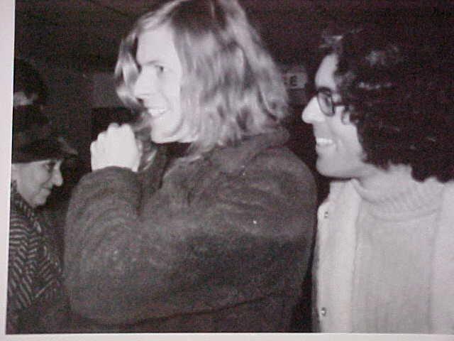 Bowie con Ron Oberman