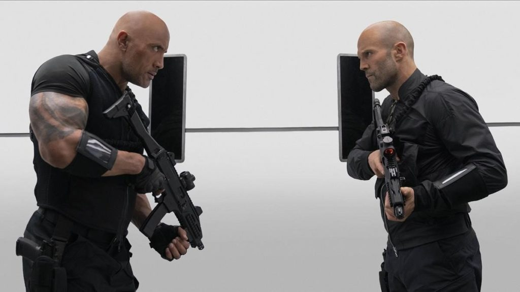 Fast & Furious: Hobbs & Shaw, Johnson vs. Statham