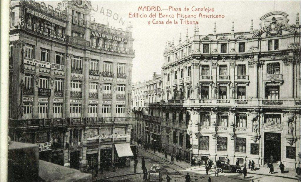 Madrid en el siglo XX, uno de los lugares donde transcurre Flor de sal