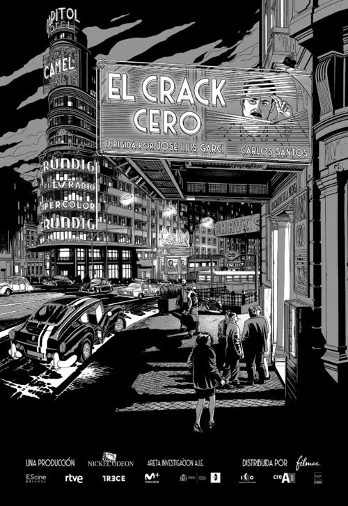 Cartel de El crack cero, estrenos del 4 de octubre