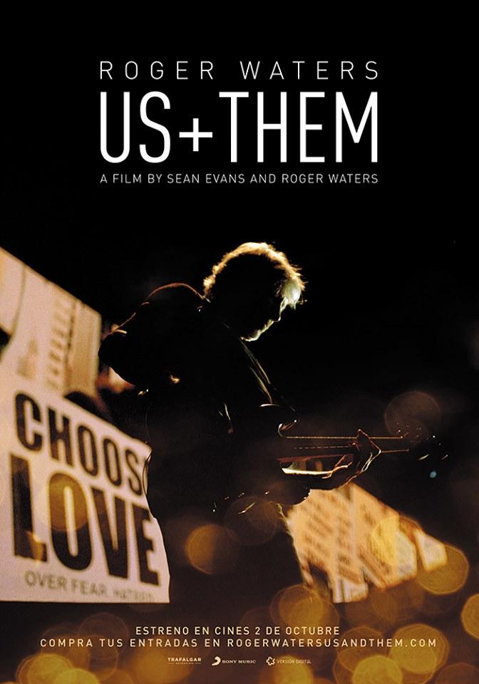 Cartel de Roger Waters Us + Them