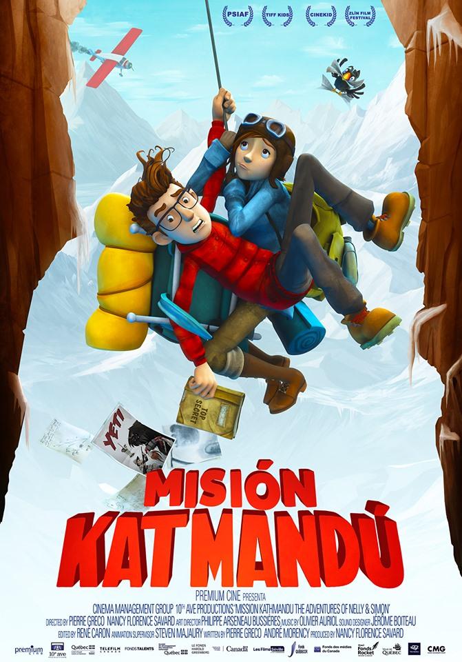 Cartel de Misión Katmandú