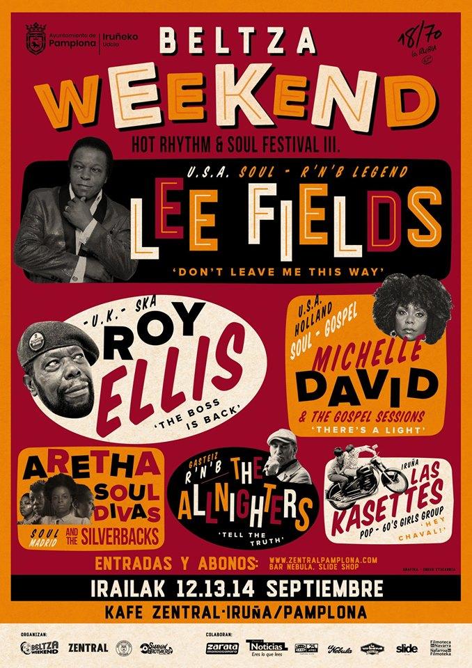 Beltza Weekend, cartel de la tercera edición