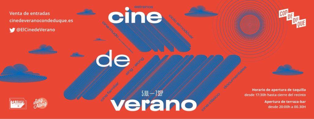 Cine de verano del Centro Conde Duque