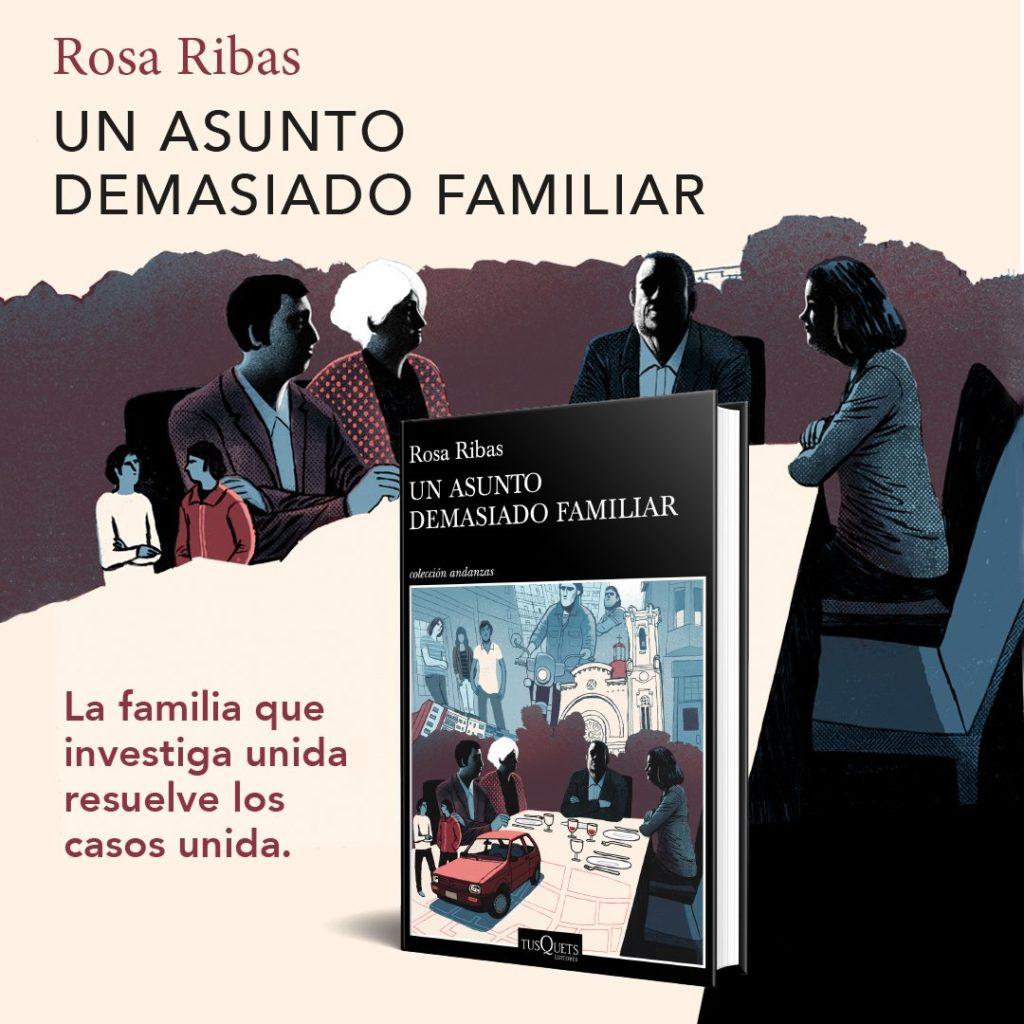 Portada del libro Un asunto demasiado familiar de Rosa Ribas