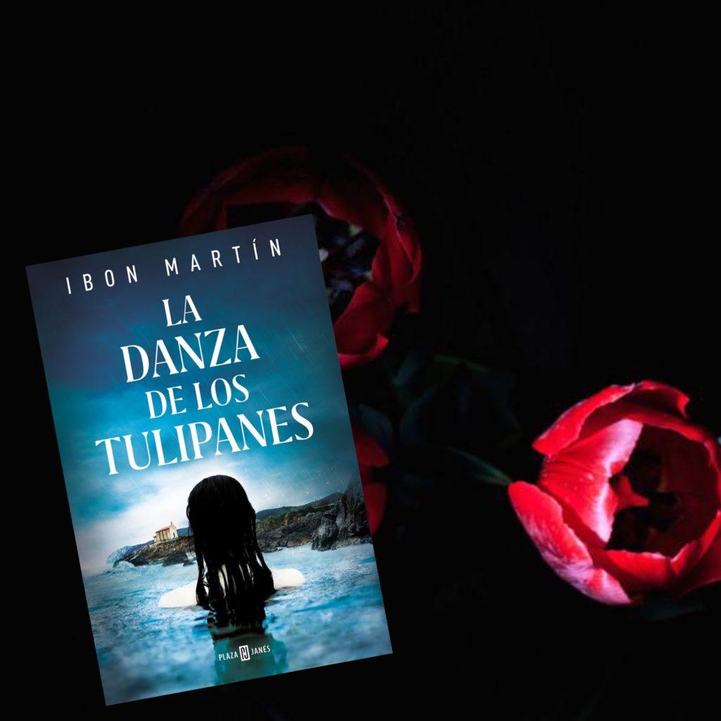 Portada de La danza de los tulipanes de Ibon Martín