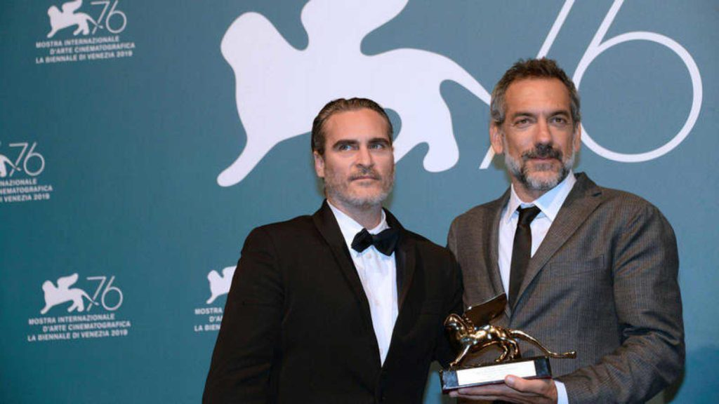 Joaquin Phoenix y Todd Phillips, con el Leon de Oro por joker