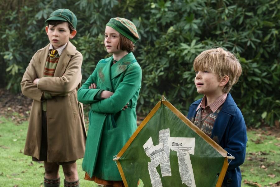 El regreso de Mary Poppins, los niños con la cometa