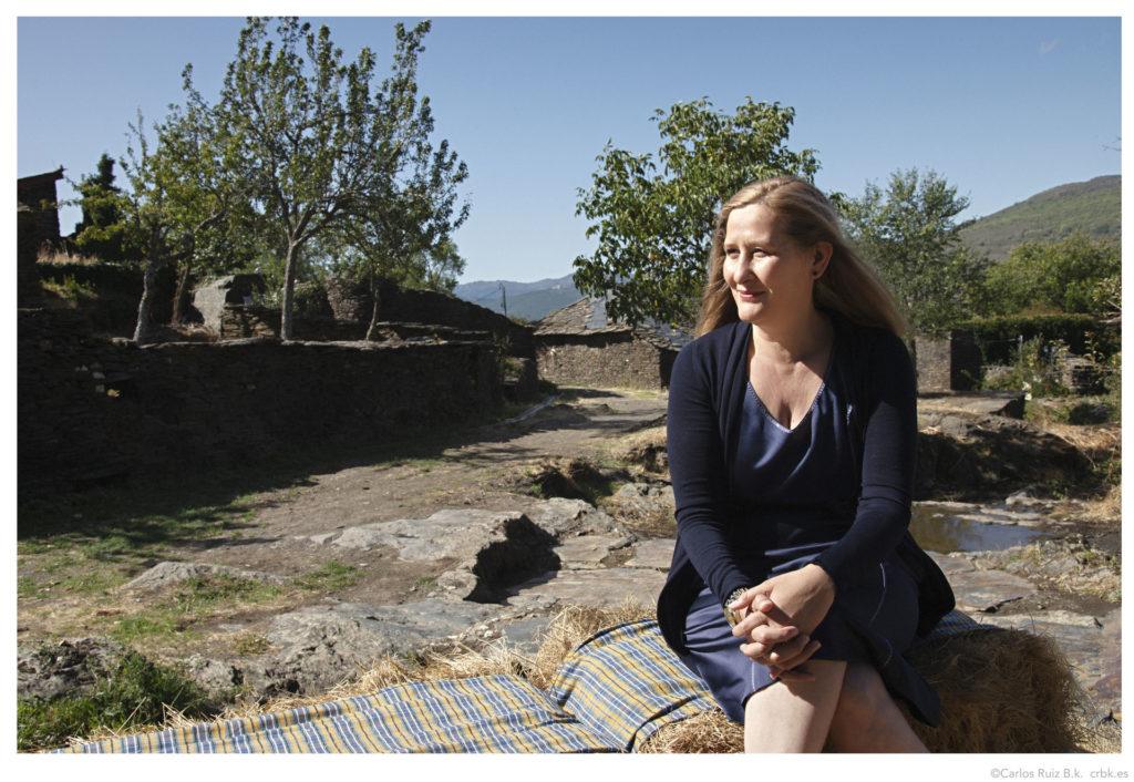 Luz Gabás autora de El latido de la tierra, en una foto de archivo.