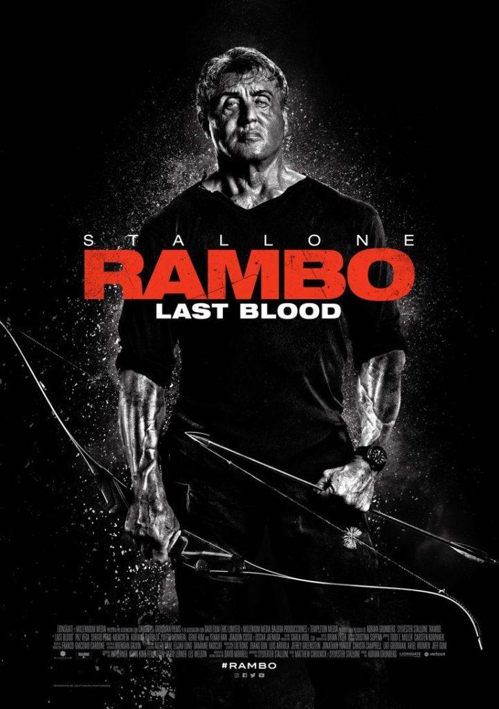 Rambo: Last Blood, Cartel, estrenos del 27 de septiembre